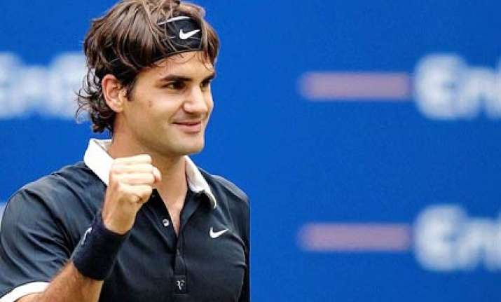 first round wins for federer clijsters and jankovic