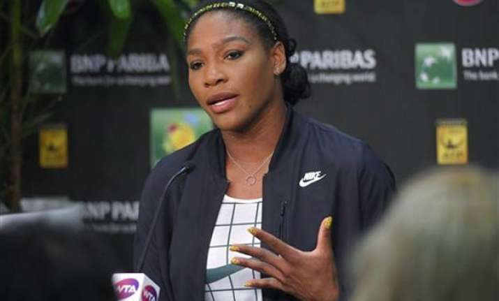 serena ends 14 year boycott with return to indian wells