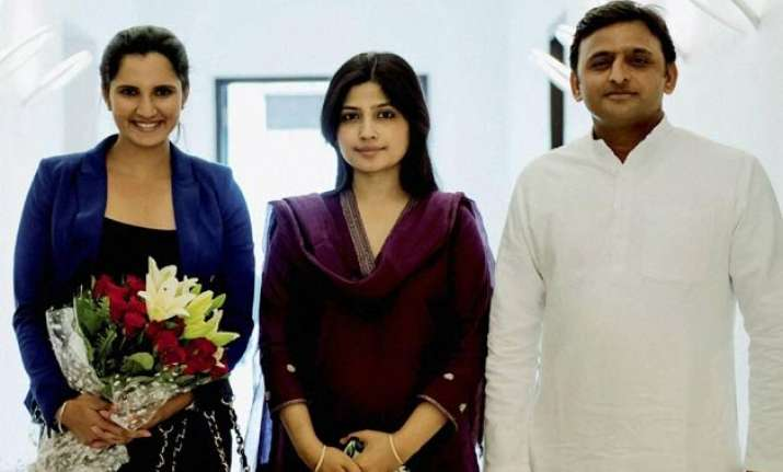 sania mirza meets up cm discuss tennis promotion