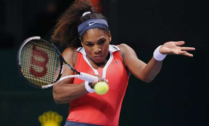 it s just a matter of time will be no. 1 again says serena