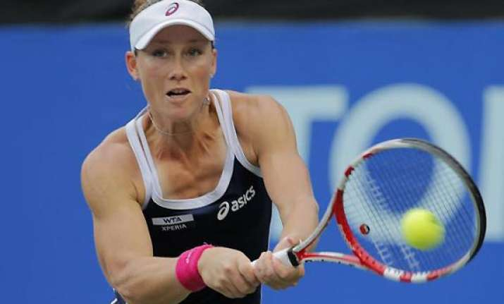 japan open stosur reaches quarters lisicki injured