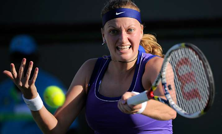 kvitova to lead czechs in fed cup semifinals