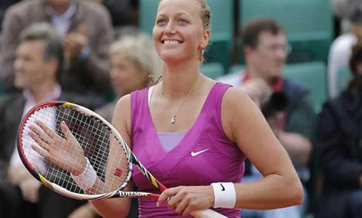 kvitova ends qualifier shvedova s french open run