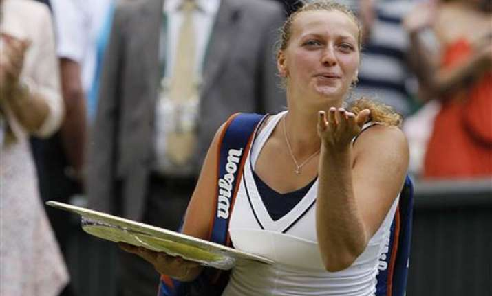 kvitova s journey from an unknown to wimbledon champ