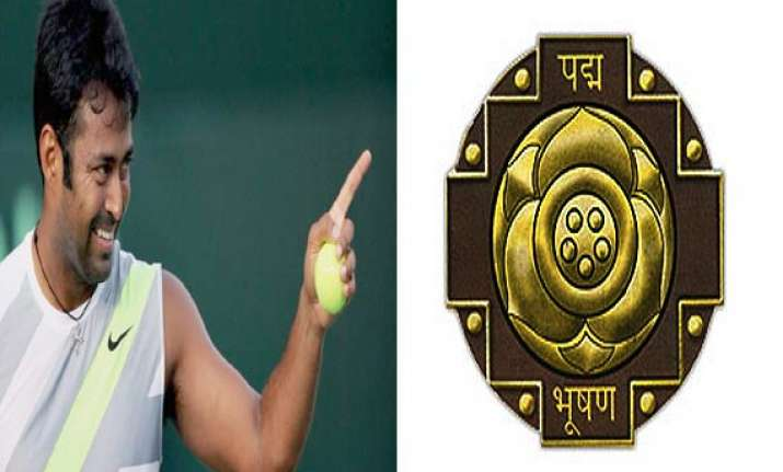 leander paes the latest sportsperson to be awarded padma