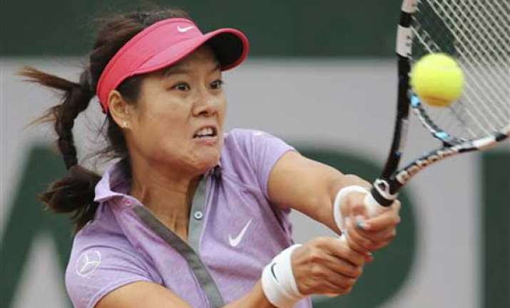 li na loses in 1st round at french open