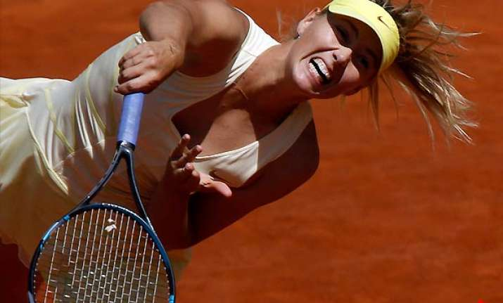 maria sharapova closing in on career grand slam