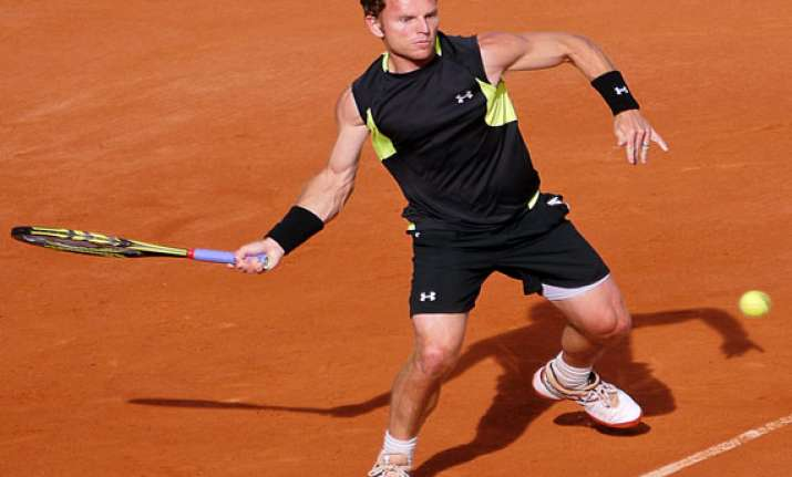 michael russell advances in indian wells