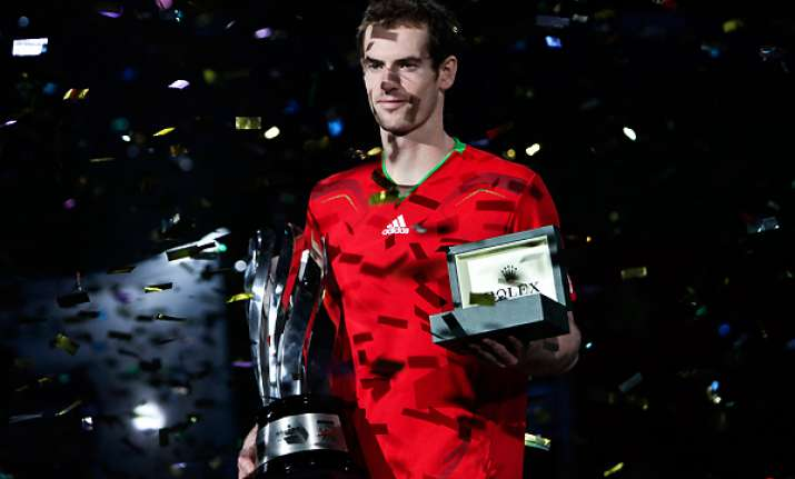 murray beats ferrer to win shanghai masters