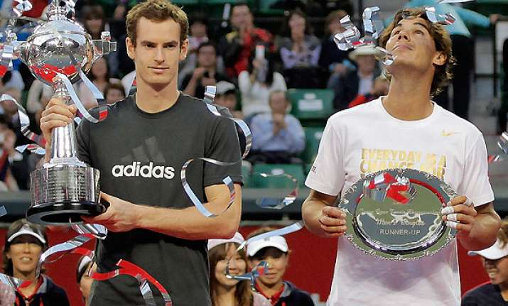 murray beats nadal to win japan open