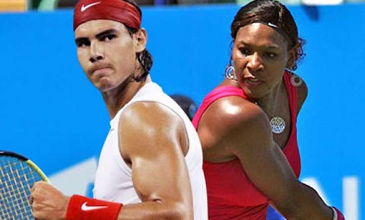 nadal serena win italian open titles