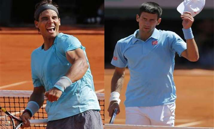 nadal and djokovic to meet in french open final