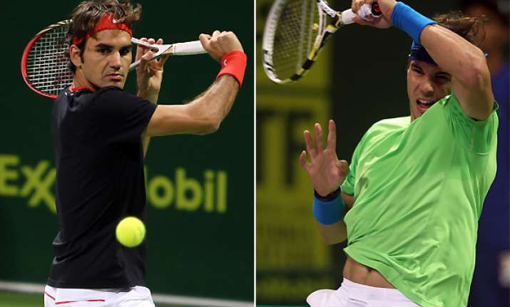 nadal federer win 1st round matches at qatar open