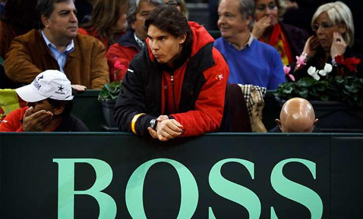 nadal 3 others give doping test at davis cup
