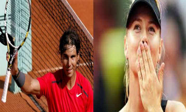 nadal sharapova make it look easy in paris