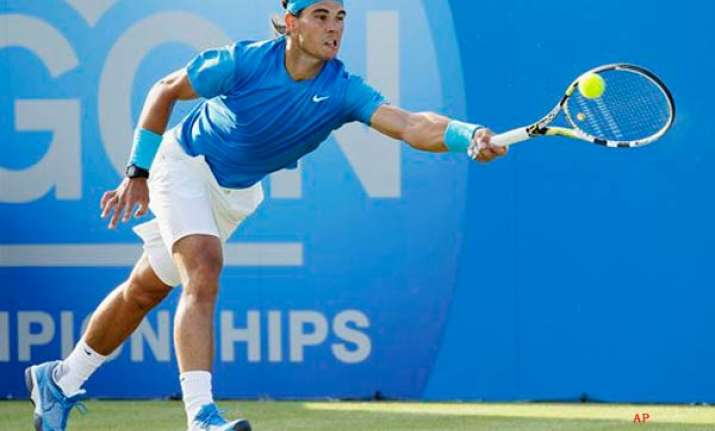 nadal stretched to 3 sets by stepanek at queen s