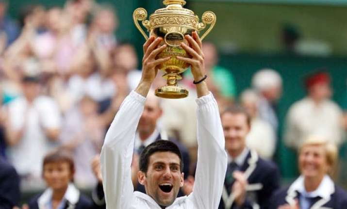 nadal s reign ends djokovic wins his first wimbledon title