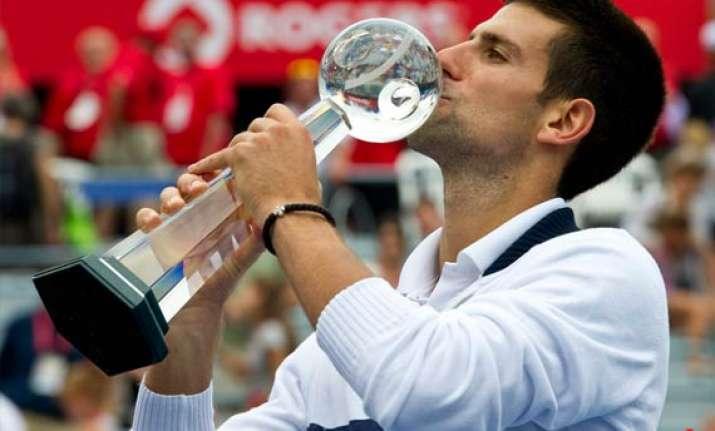 novak djokovic wins rogers cup