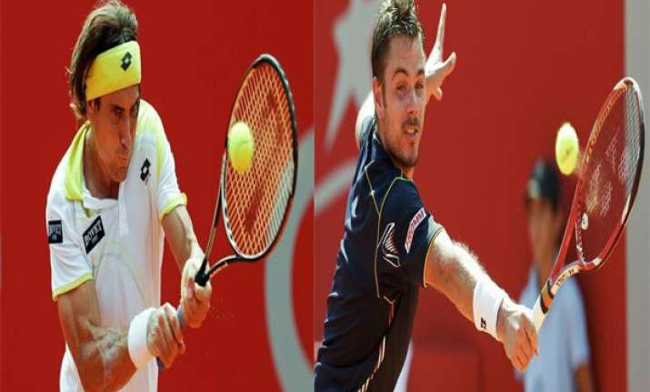 paris masters ferrer wawrinka reach quarterfinals