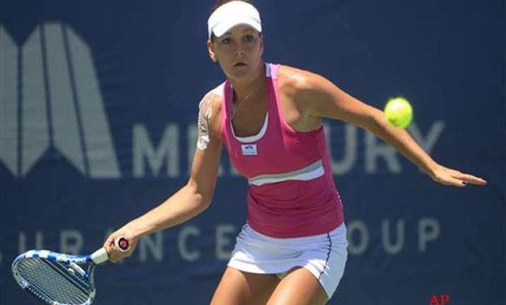radwanska beats petkovic to reach carlsbad final