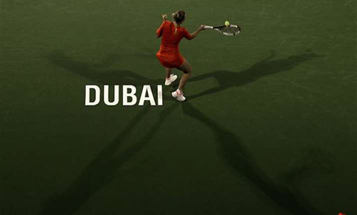radwanska wins dubai title by defeating goerges