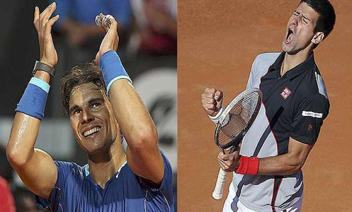 rafael nadal to renew rivalry vs novak djokovic in rome