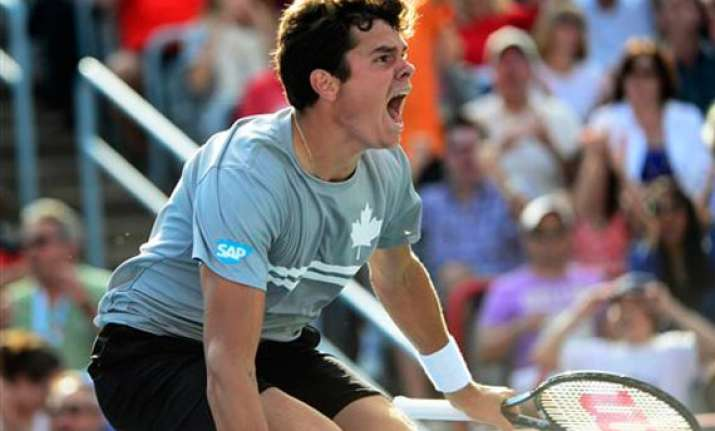 raonic beat fellow canadian pospisil in montreal