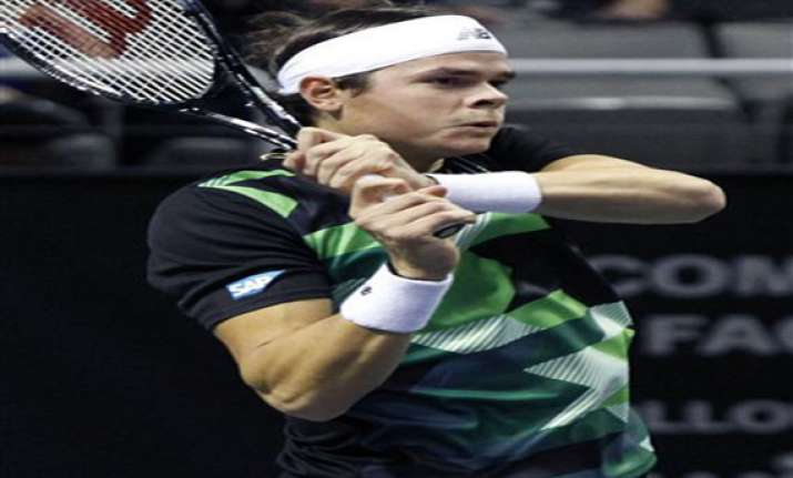 raonic beats haas for 3rd straight sap open title