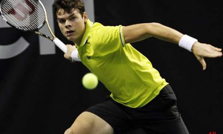 raonic tops harrison to advance to sap open final