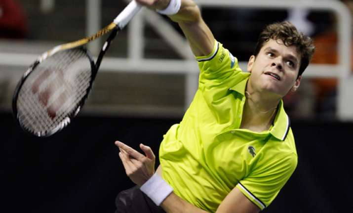 raonic tops istomin to repeat as sap open champion