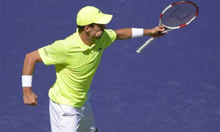 roberto bautista agut knocks out tomas berdych in indian