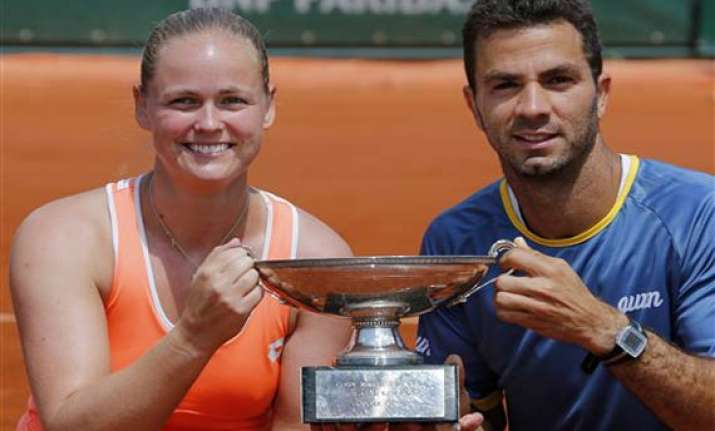 rojer groenefeld win french open mixed doubles