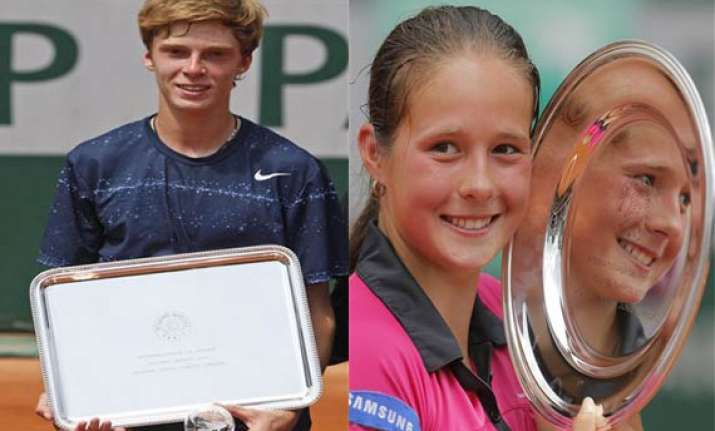 russians win french open junior titles
