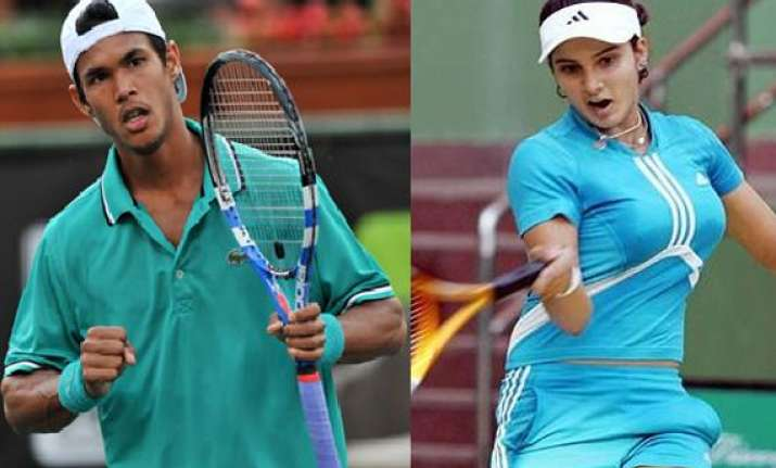 sania somdev get wild cards for london olympics