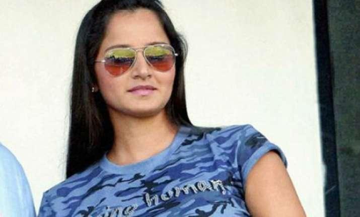 sania supports paes bhupathi split