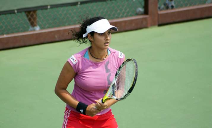 sania to lead indian challenge in fed cup next month