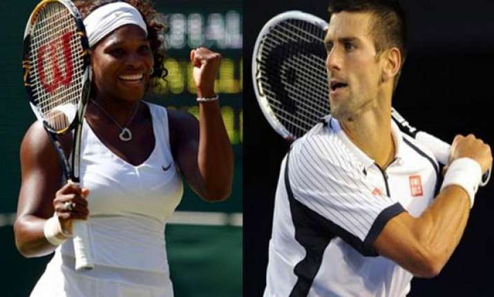 serena williams wins in madrid djokovic withdraws