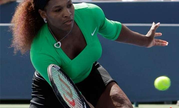 serena williams withdraws no. 1 wozniacki loses