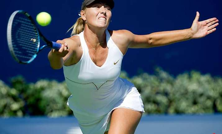 sharapova loses in third round at rogers cup