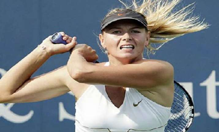 sharapova out of brisbane event with ankle injury