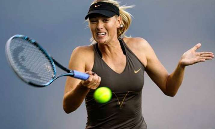 sharapova still no. 1 in earnings
