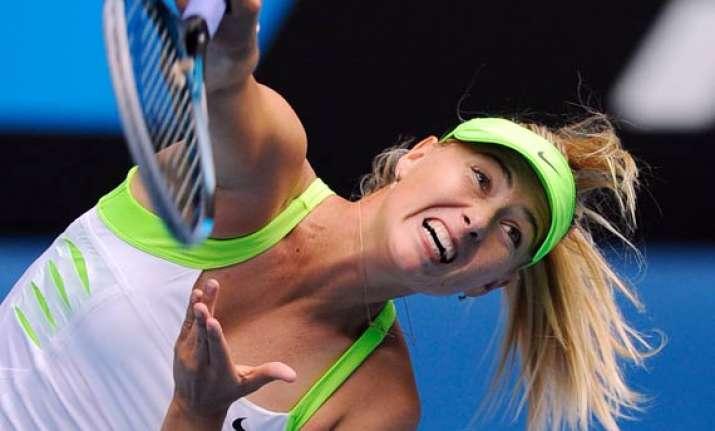 sharapova through to 4th round at australian open