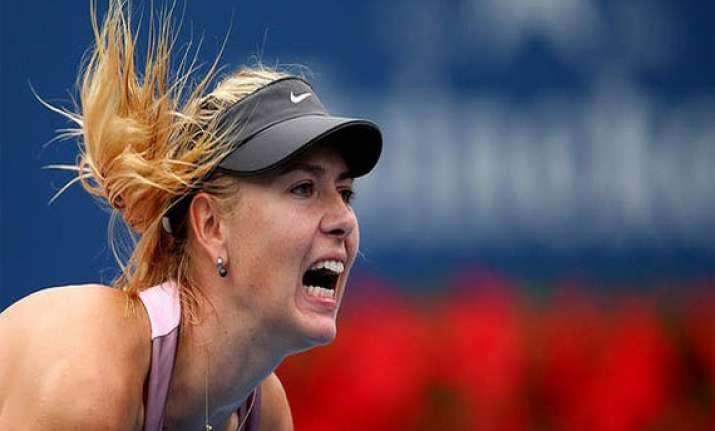 sharapova to play despite neck injury