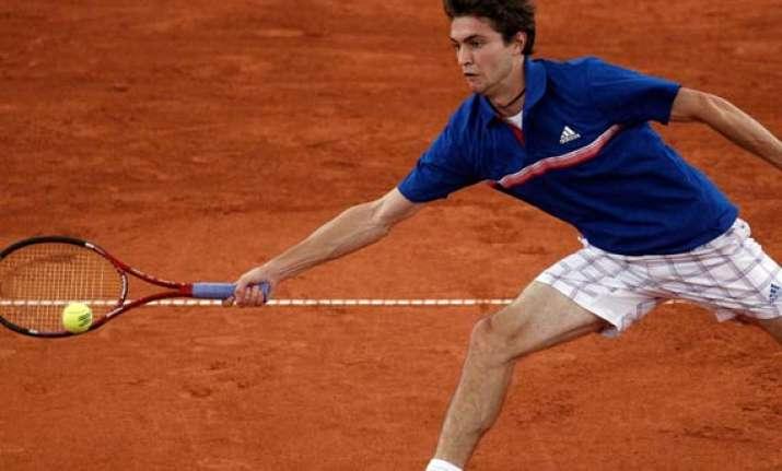 simon beats youzhny in german open semifinals