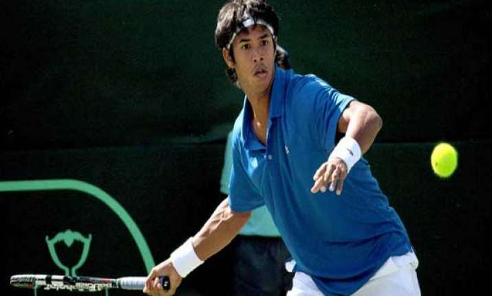 somdev wins but sanam loses as india korea share honours