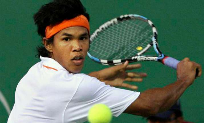 somdev loses in first round of shanghai masters