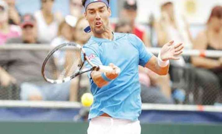 top seeded fognini reaches semifinals in chile