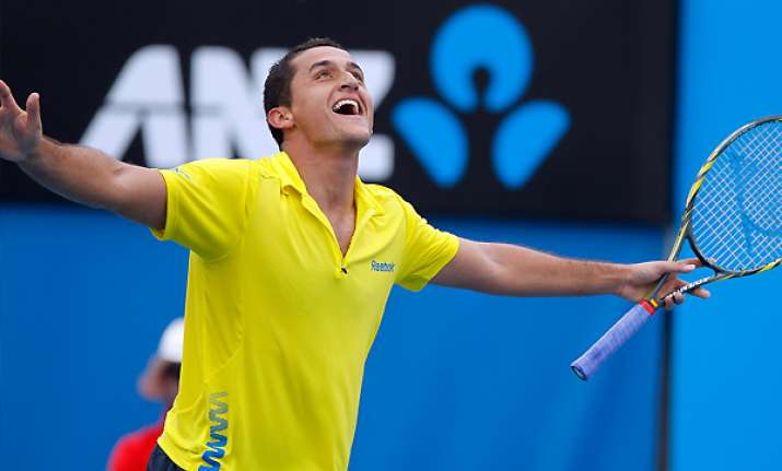 top seed almagro reaches quarters of brazil open