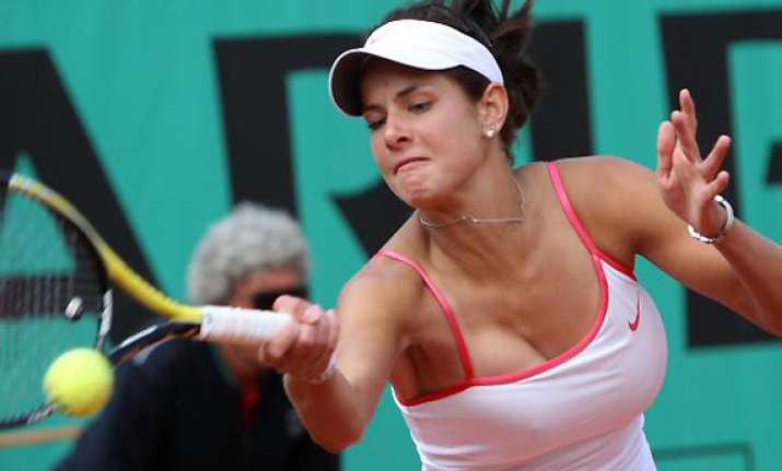 top seeded goerges loses gastein ladies opener