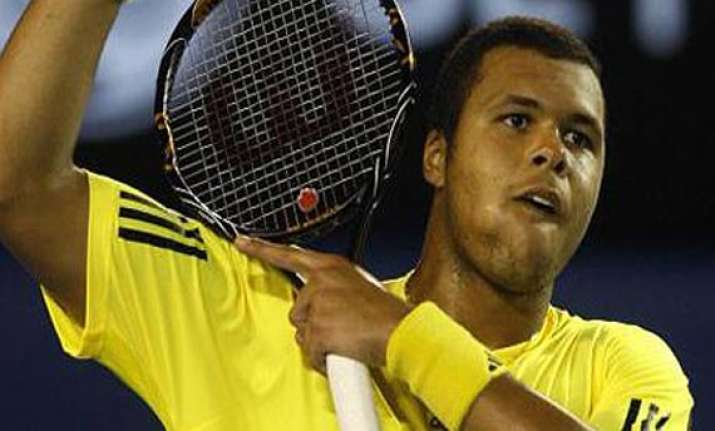 tsonga beats davydenko to reach open 13 quarters